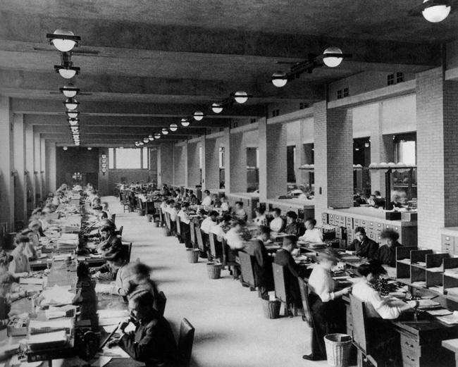 Breu història de l'evolució dels espais de treball