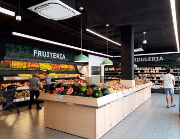 Restyling en los supermercados Novavenda