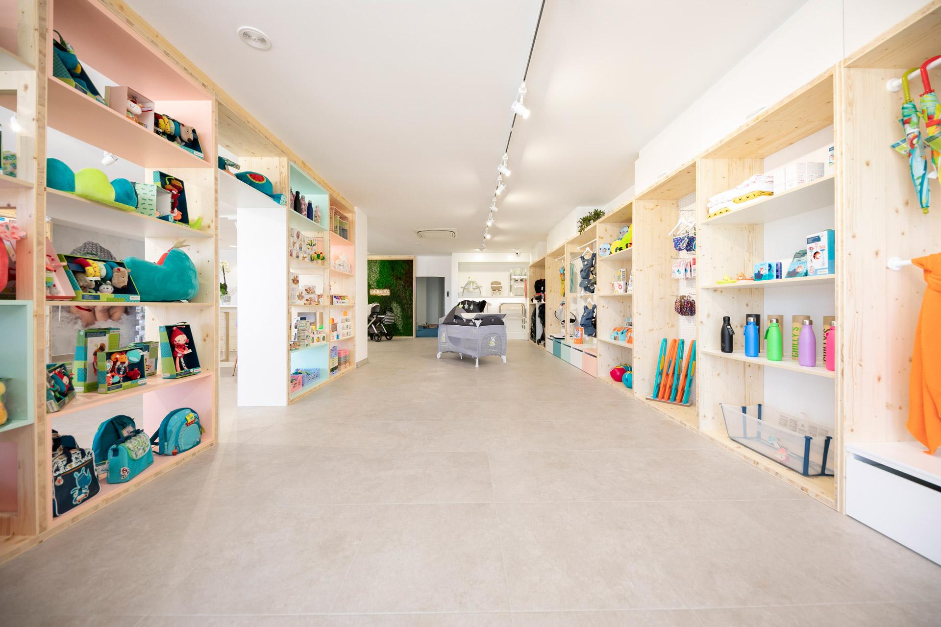 Interiorismo espacios comerciales