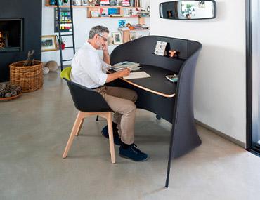 10 piezas esenciales para tener una oficina eficaz en casa